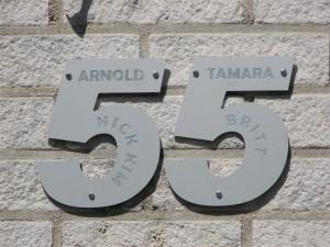 Uniek huisnummer