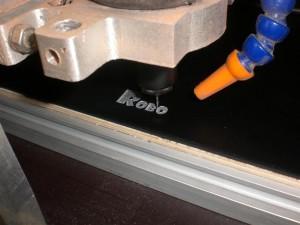 Engraving Gravoxal frontpanel