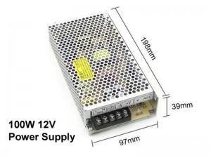 12V 8A 100W power supply