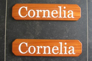 Naambord Cornelia (1)