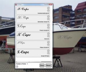Scheepsnaambord X-Cape (3)