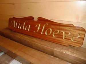Naambord Alida Hoeve (1)