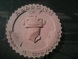 RoboCNC_Sign_HDU