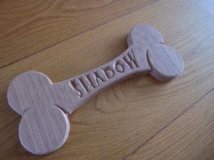 Naambord hondenhok (4)