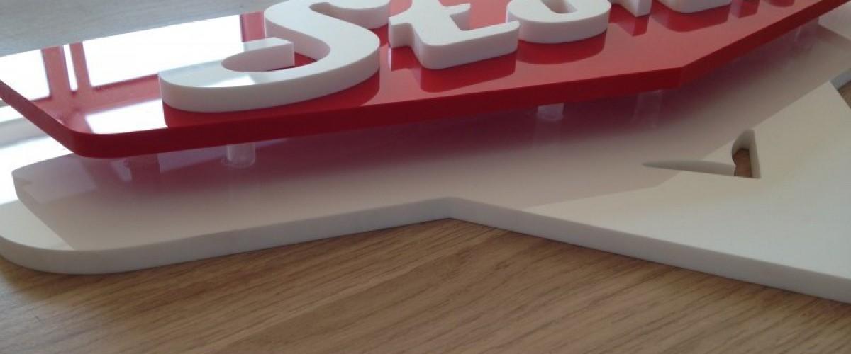 Acrylaat robocnc - Kamer wanddecoratie kind ...
