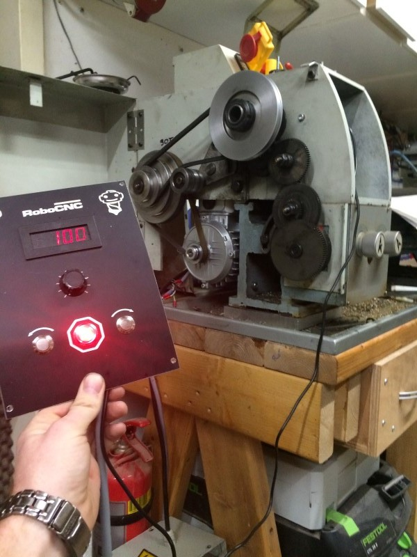 CQ6125 Lathe conversion to VFD variable sd. | RoboCNC on